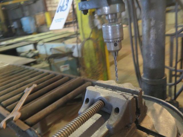 """Lot 663 - Jet Pedestal Drill Press w/ 6"""" Speed Vise"""