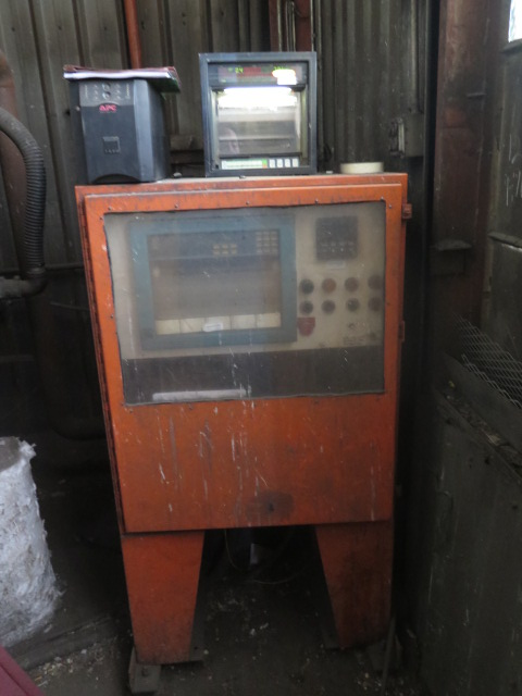 Lot 501 - 12' x 15' Drop-Top Stress Relieving Oven w/ 4-Burners, High Pressure Natural Gas Fired, Cooper