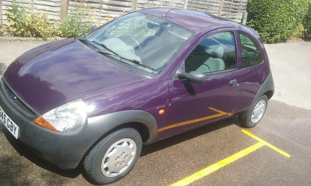 Lot   V Reg Ford Ka  Door Hatchback Purple Low Miles