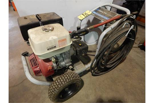 Delta Gas-Powered Pressure Washer with Honda 11 H. P. Engine, 3,600 ...