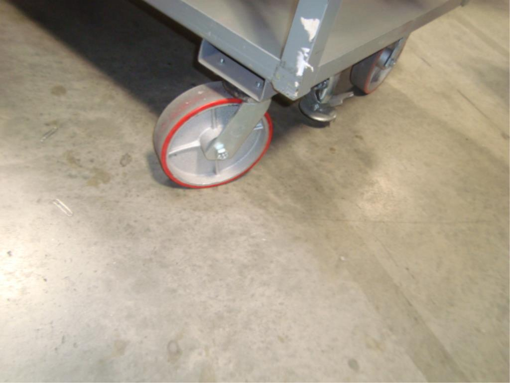 Heavy Duty Mobile Material Cart - Image 7 of 10