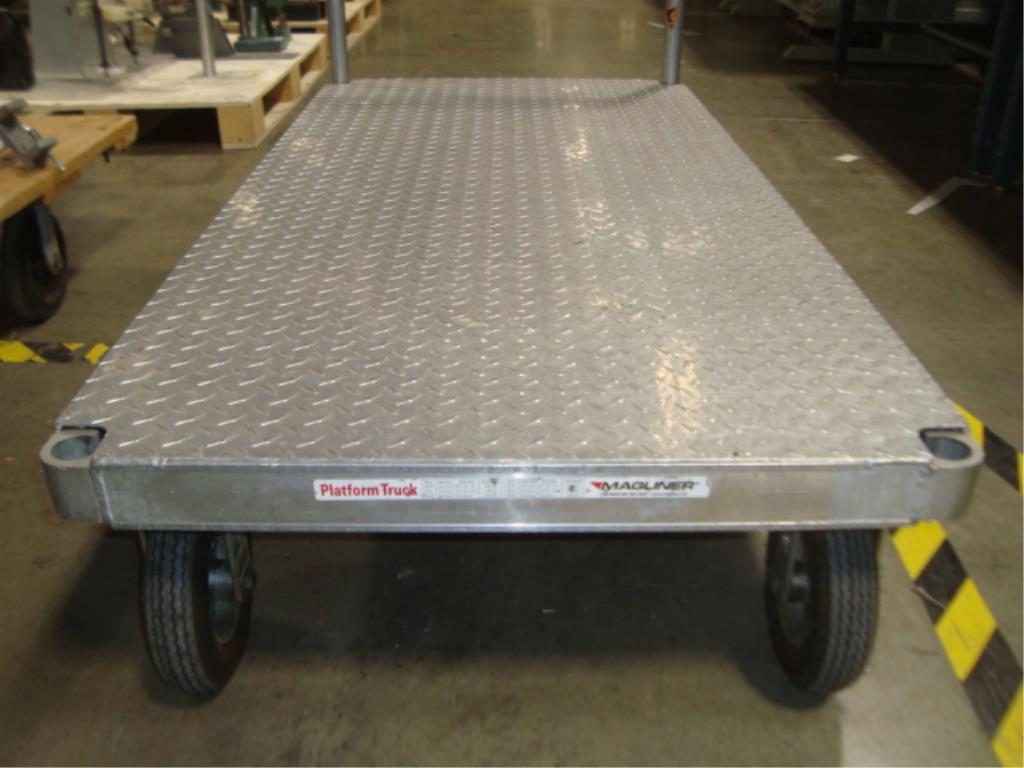 Heavy Duty Mobile Platform Cart - Image 9 of 10