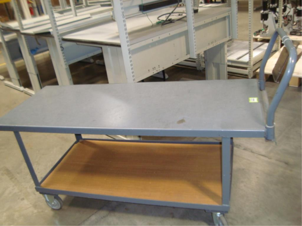 Heavy Duty Mobile Material Cart - Image 5 of 8