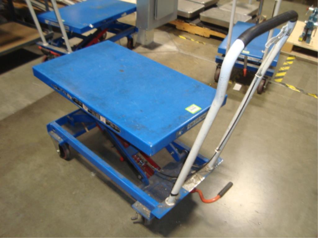 Hydraulic Lift Table - Image 5 of 12