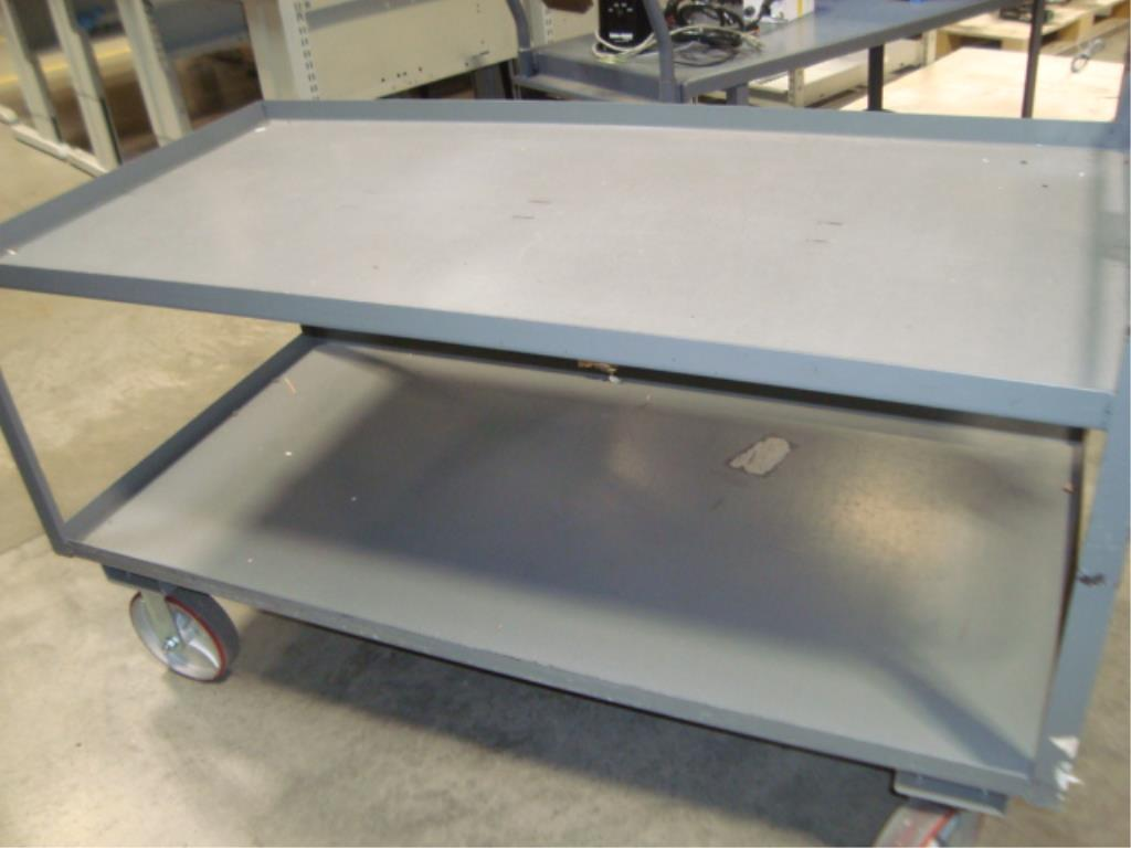 Heavy Duty Mobile Material Cart - Image 5 of 10
