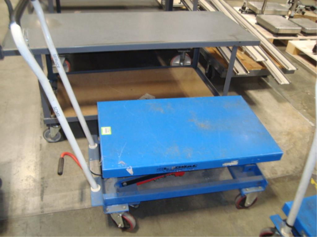 Hydraulic Lift Table - Image 3 of 10