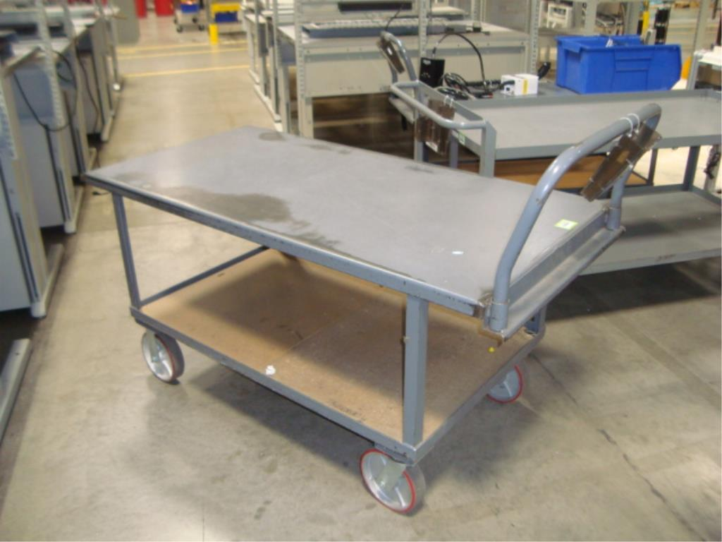 Heavy Duty Mobile Material Cart - Image 7 of 12