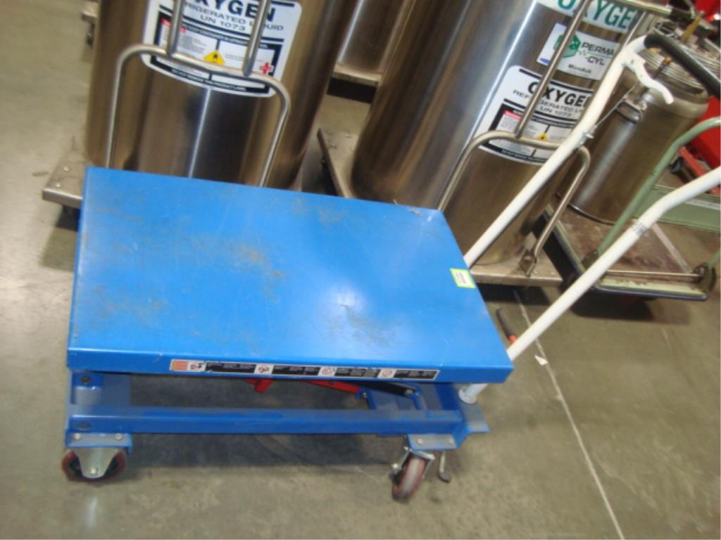 Hydraulic Lift Table - Image 7 of 10