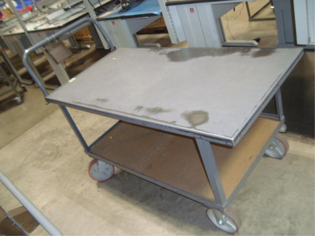 Heavy Duty Mobile Material Cart - Image 6 of 12