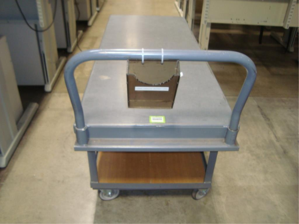 Heavy Duty Mobile Material Cart - Image 7 of 8