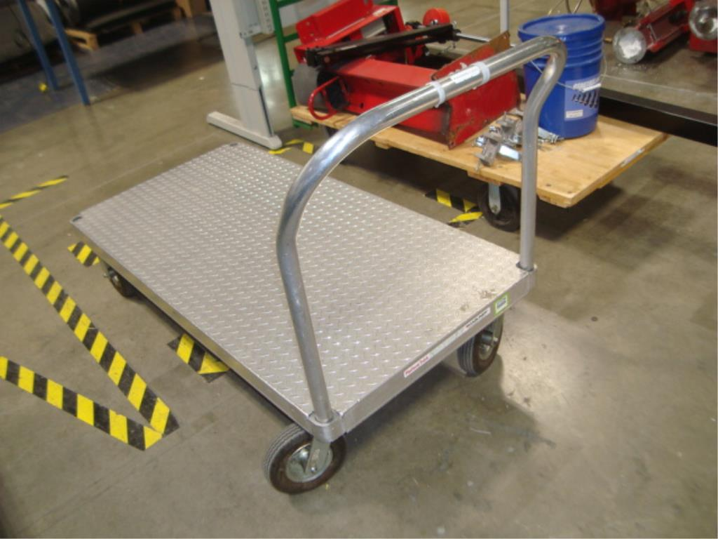 Heavy Duty Mobile Platform Cart - Image 2 of 10
