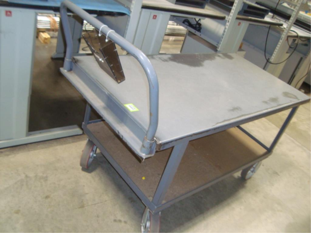 Heavy Duty Mobile Material Cart - Image 3 of 12