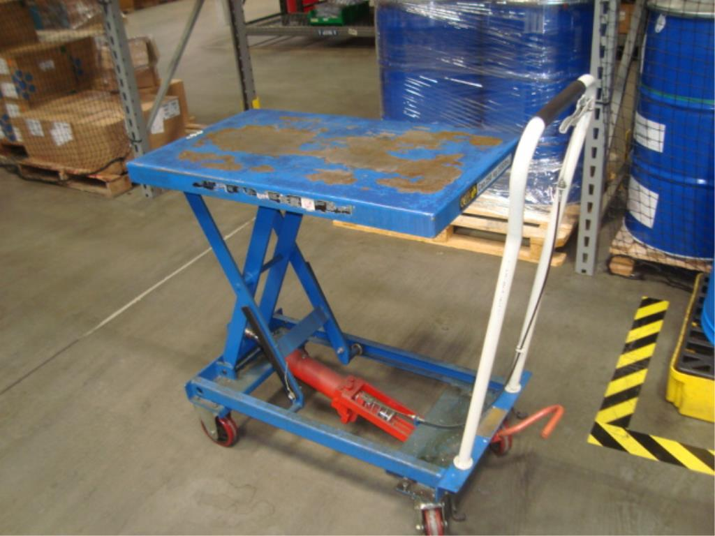 Hydraulic Lift Table - Image 4 of 5