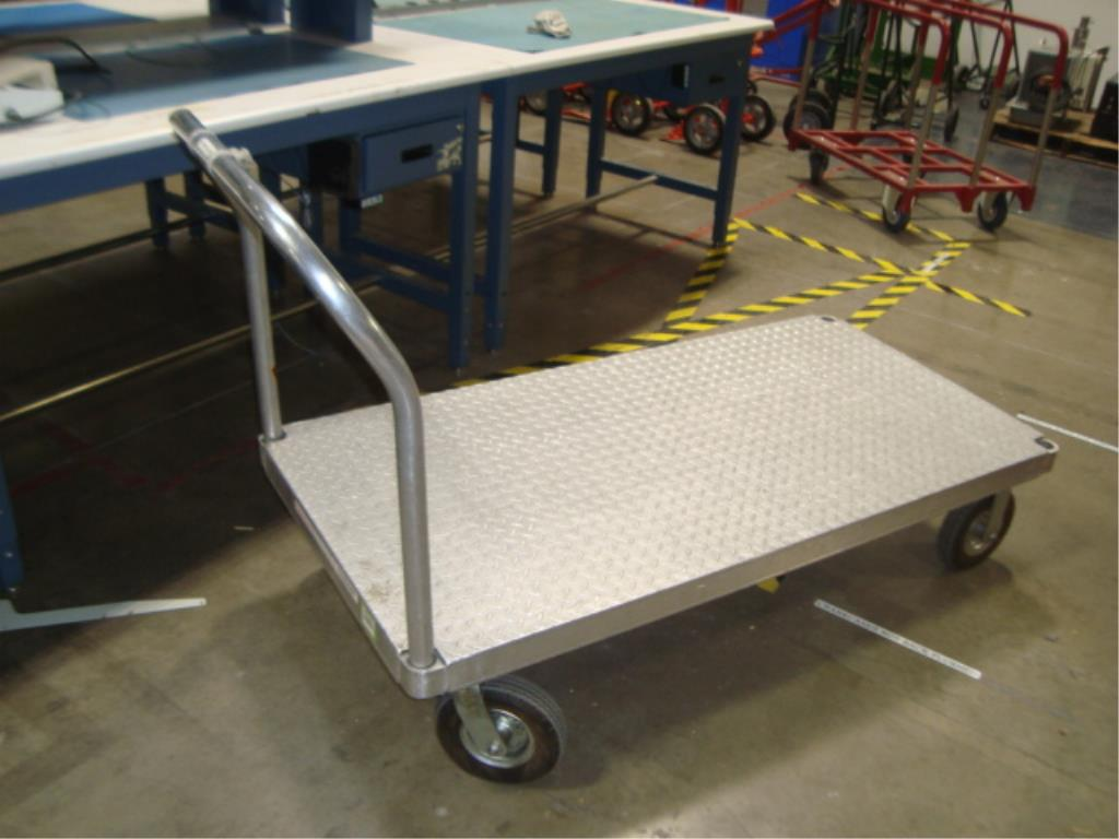Heavy Duty Mobile Platform Cart - Image 3 of 10