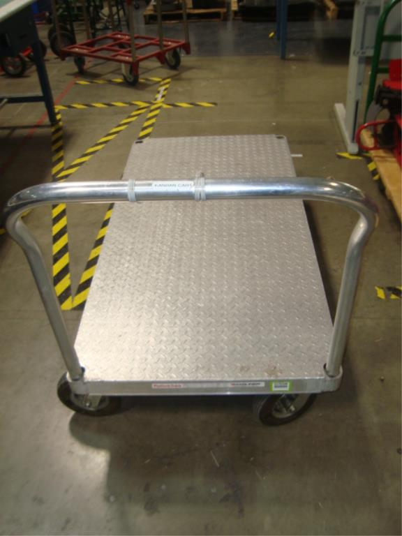 Heavy Duty Mobile Platform Cart - Image 5 of 10