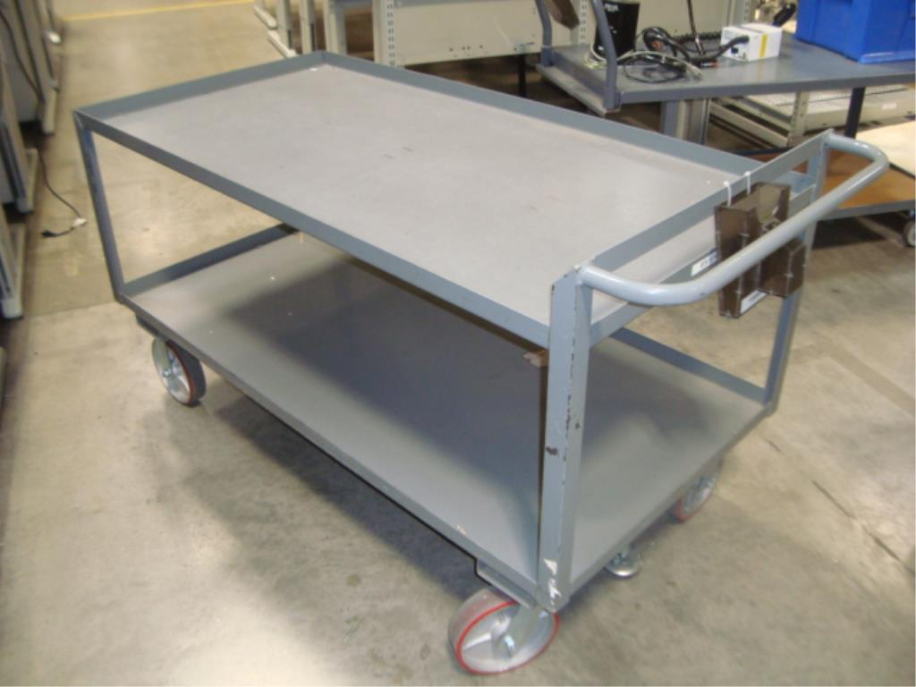 Heavy Duty Mobile Material Cart - Image 3 of 10