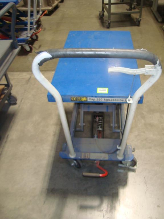 Hydraulic Lift Table - Image 5 of 8