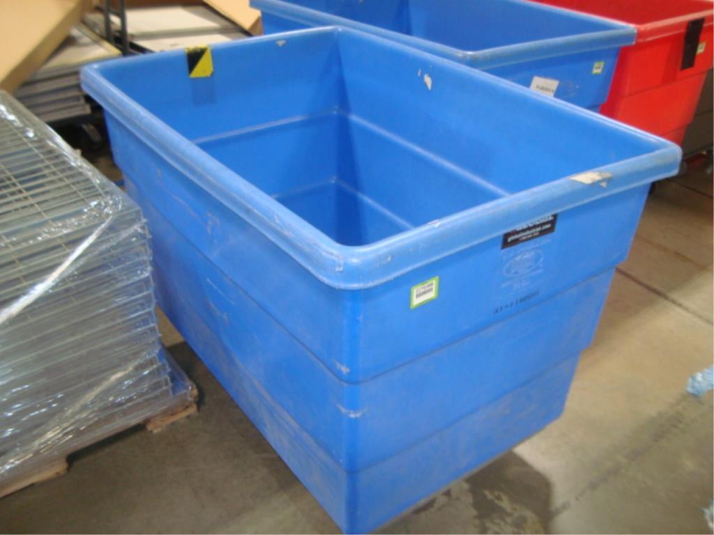 Mobile Poly Bulk Materials Handling Truck