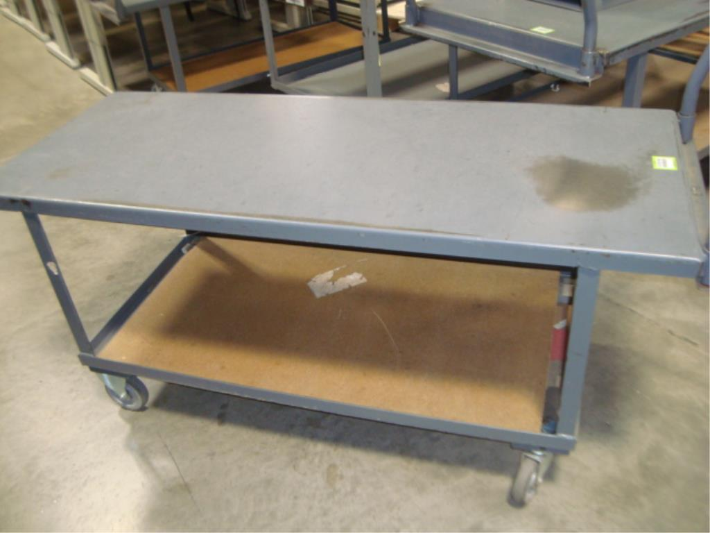 Heavy Duty Mobile Material Cart - Image 6 of 8
