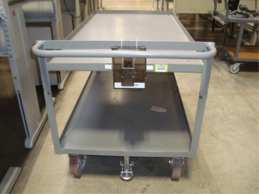 Heavy Duty Mobile Material Cart - Image 9 of 10