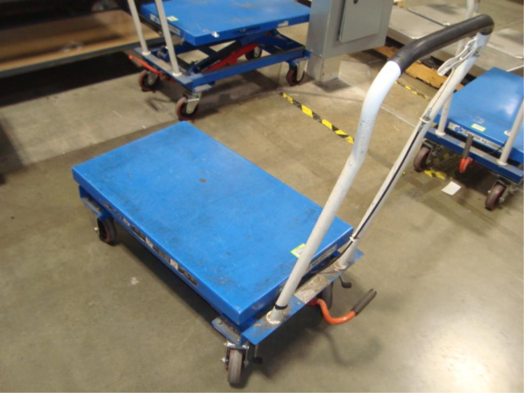 Hydraulic Lift Table - Image 3 of 12