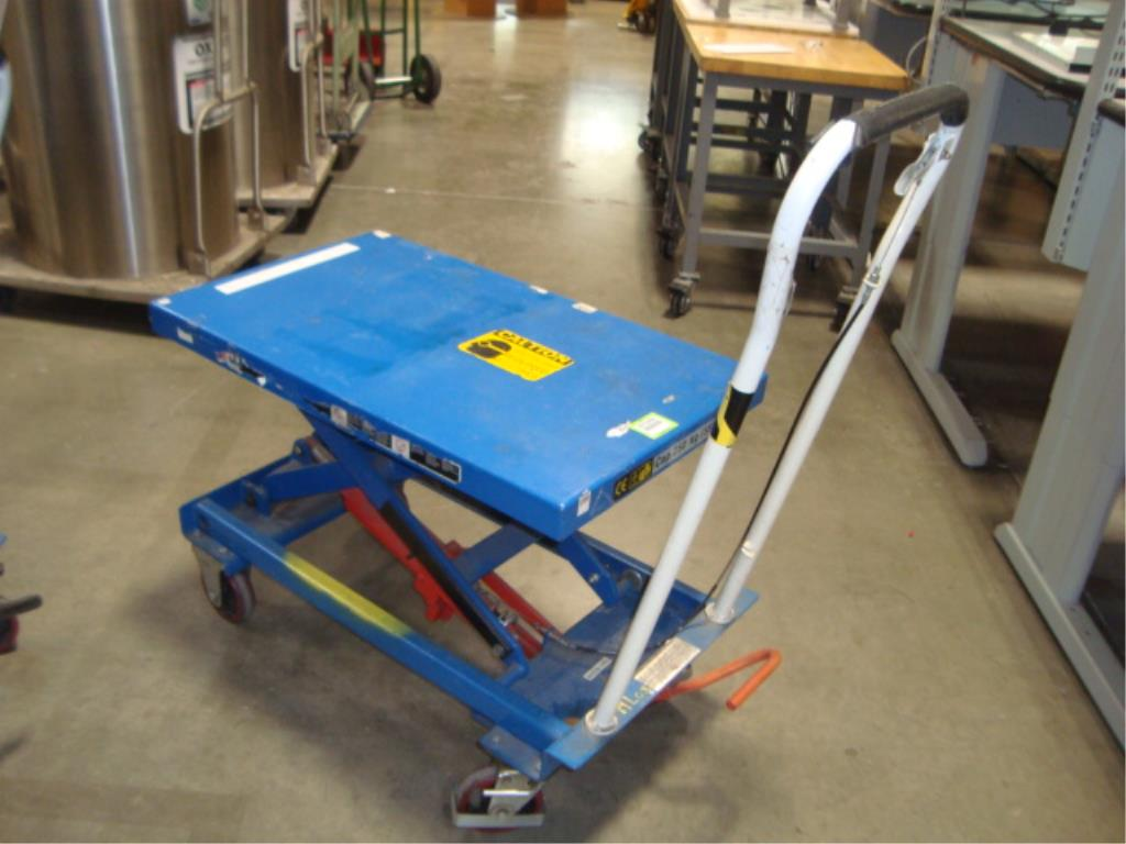 Hydraulic Lift Table - Image 4 of 8