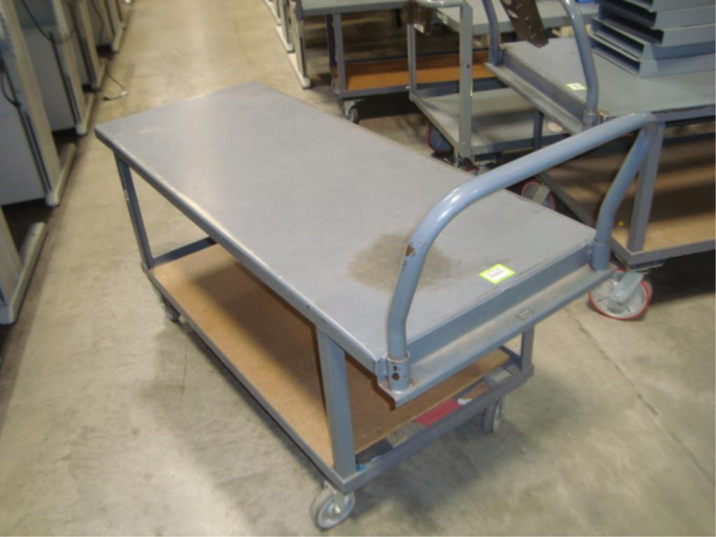 Heavy Duty Mobile Material Cart - Image 3 of 8