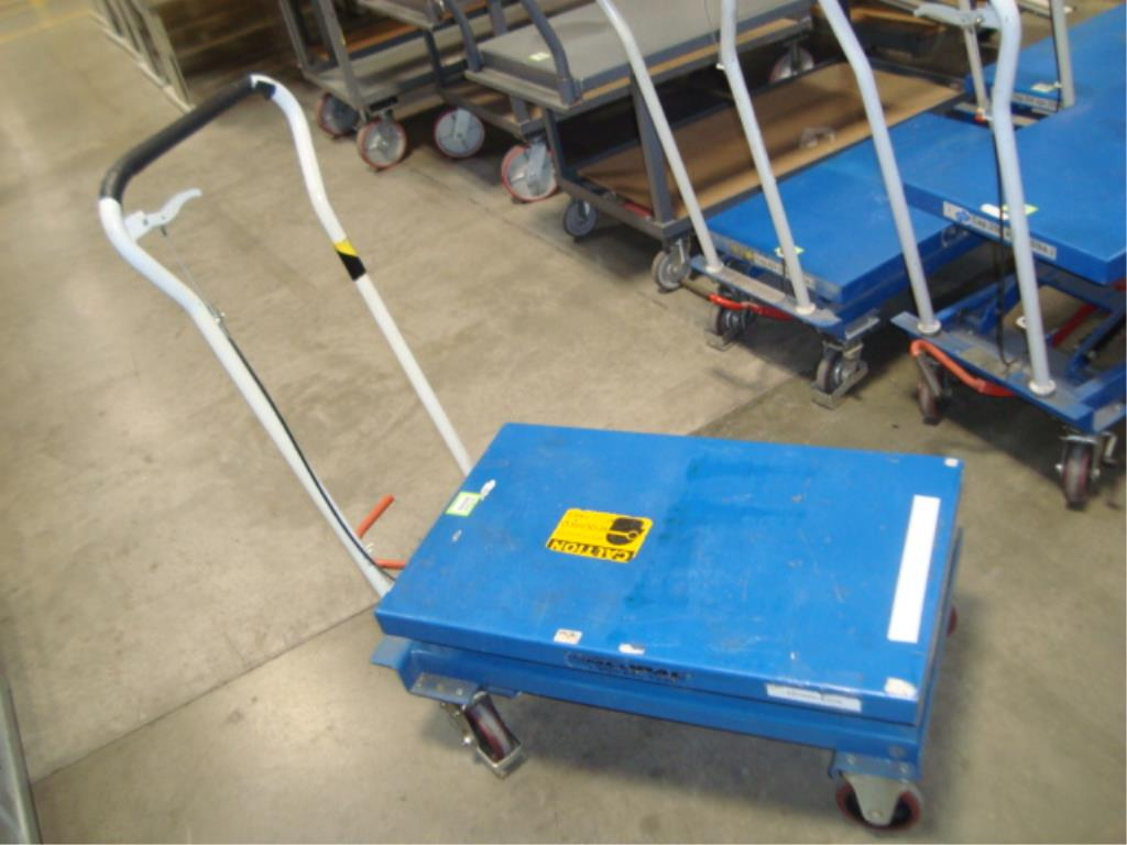 Hydraulic Lift Table - Image 2 of 8