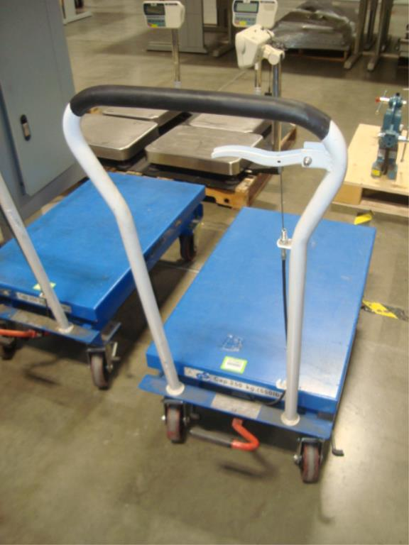 Hydraulic Lift Table - Image 10 of 10