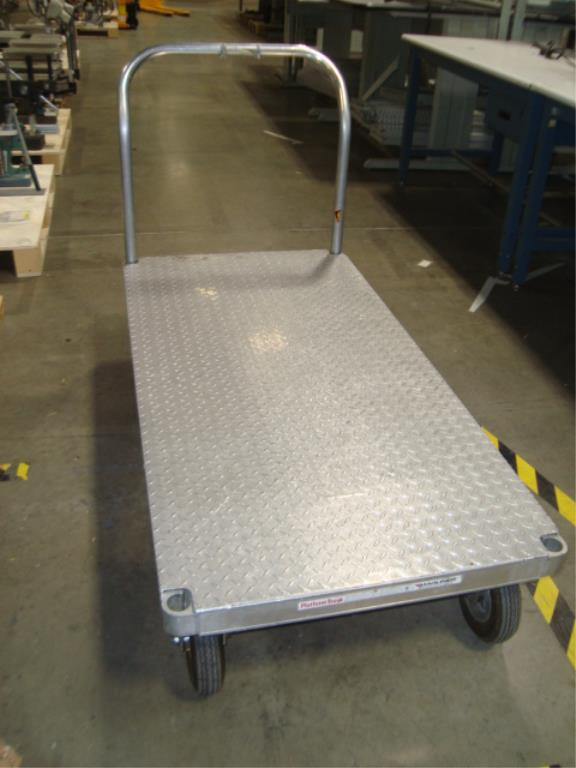Heavy Duty Mobile Platform Cart - Image 8 of 10