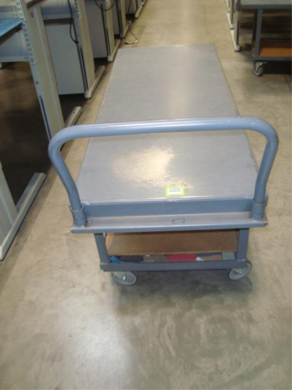 Heavy Duty Mobile Material Cart - Image 8 of 8