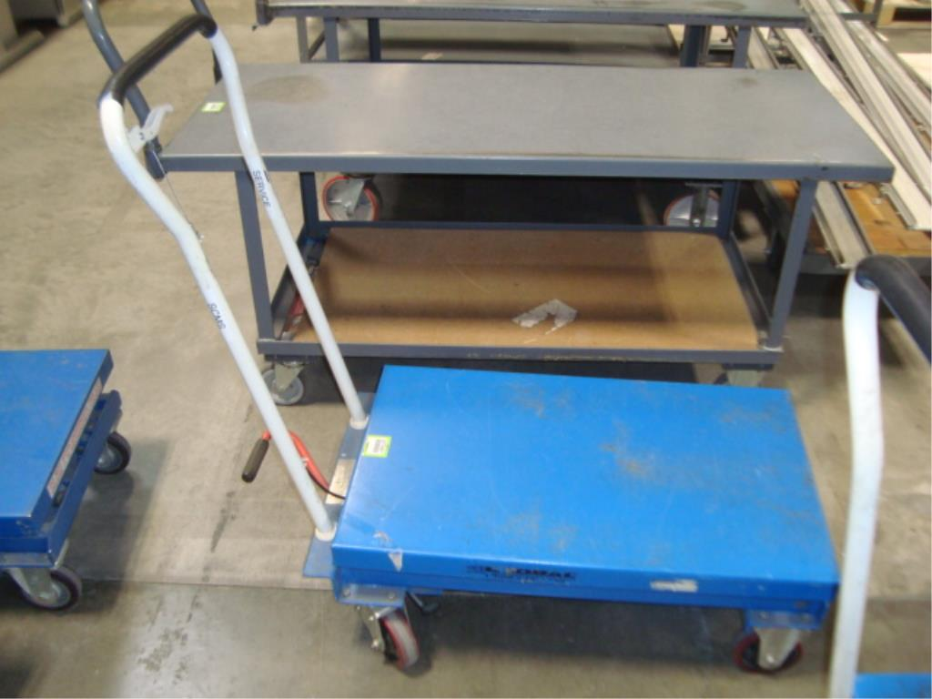 Hydraulic Lift Table - Image 2 of 10