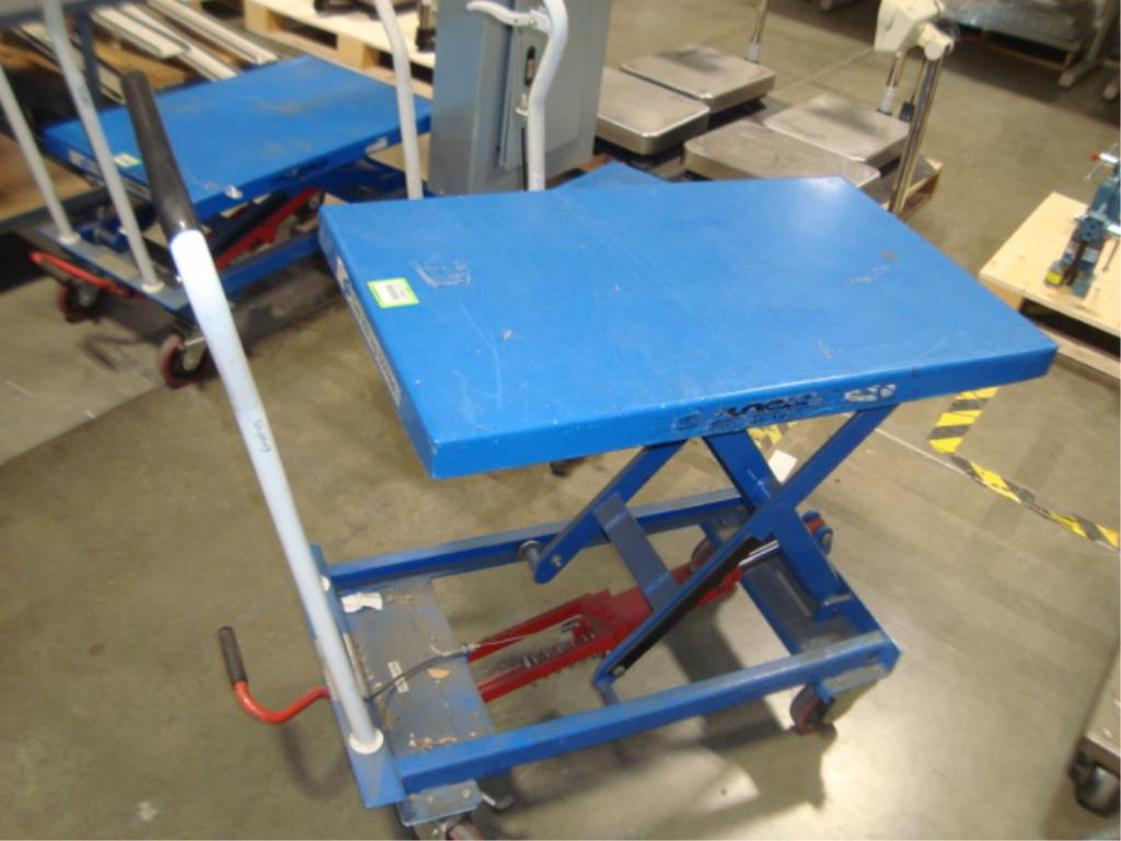 Hydraulic Lift Table - Image 8 of 10