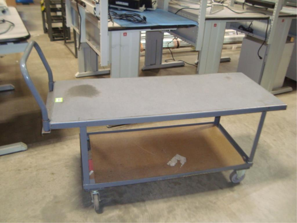 Heavy Duty Mobile Material Cart - Image 2 of 8