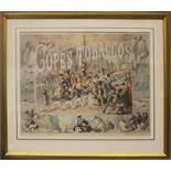JOHN WALLACE (AKA GEORGE PIPESHANK), (ENGLISH 1841 – 1903), AN ILLUSTRATED TOBACCO POSTEL / CARD