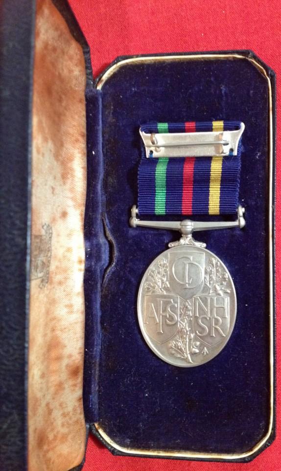 Lot 7 - Cased QEII Civil Defence Medal