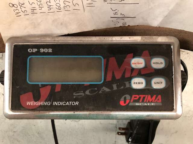 Lot 4 - Optima Scale OP-902 Scale