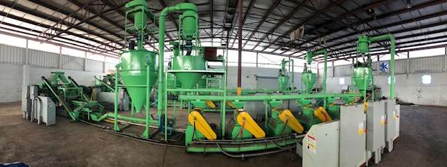 Lot 44 - 2014 Jiangyin Jinall International Trade Co. Tire Recycling Line