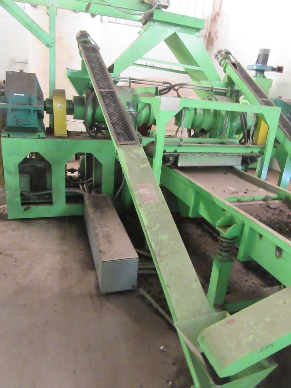 Lot 46 - 2014 Jiangyin Jinall International Trade Co. SSJ-40 (2) Screw Conveyors