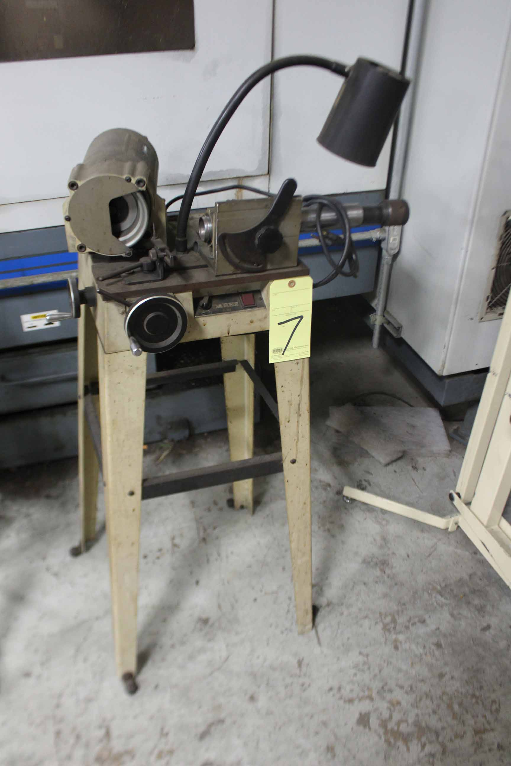 Lot 7 - DRILL SHARPENER, DAREX, 1/4 HP motor, S/N 93346