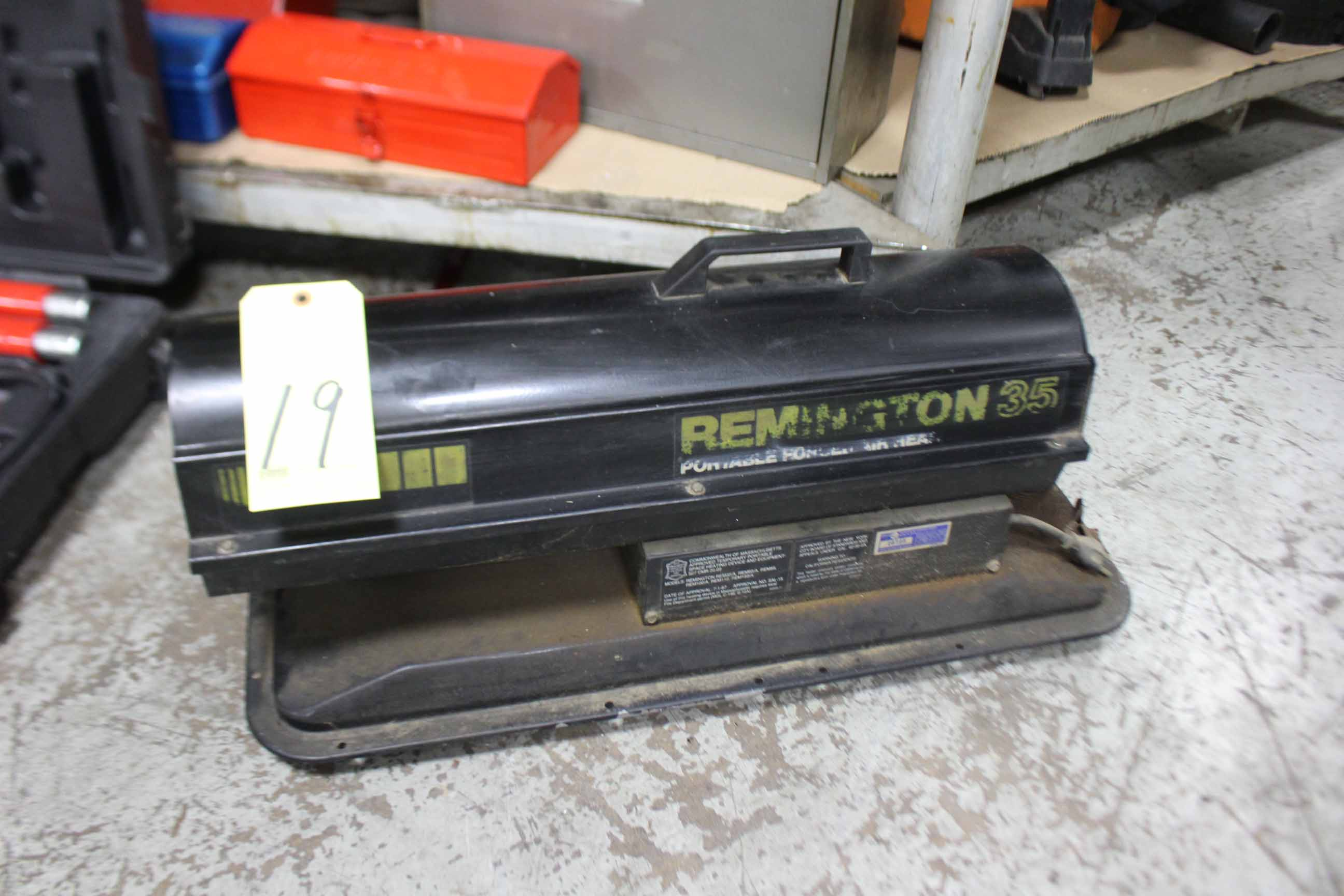 Lot 19 - SHOP HEATER, REMINGTON, 35,000 BTU's