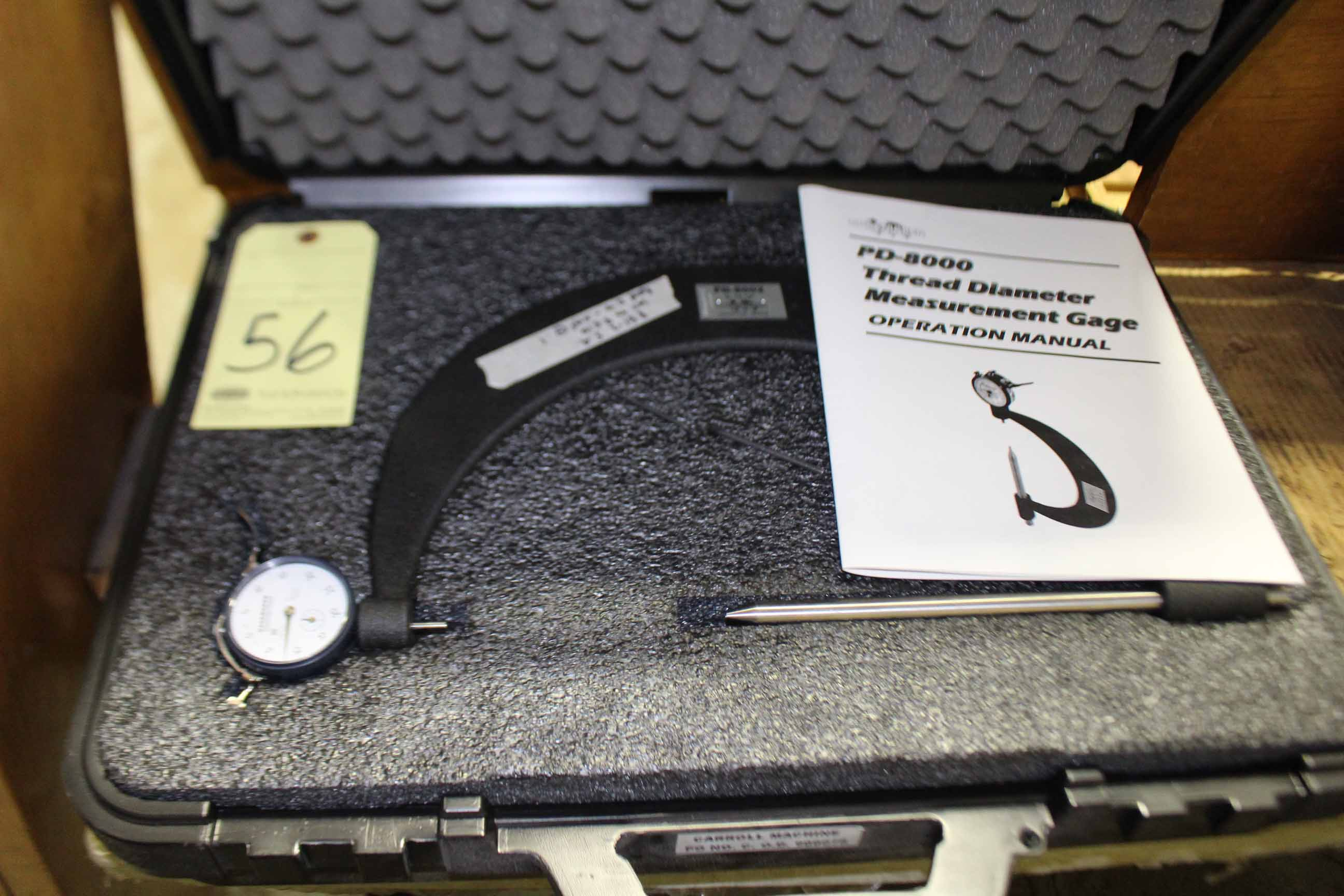 "Lot 56 - O.D. MICROMETER, GAGEMAKER, 6"" to 12"""