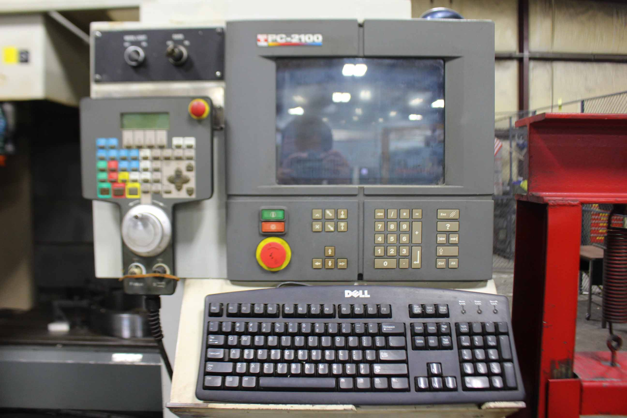 "Lot 29 - VERTICAL MACHINING CENTER, TREE MDL. VMC4024, new 1998, Acramatic PC2100 CNC control, 51"" x 23-5/"