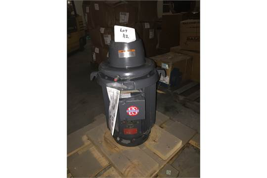 Emerson Us Motors 15 Hp Electric Motor 254tp Frame 230 460