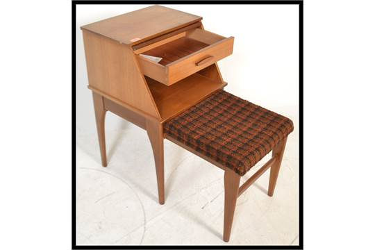 Sensational A 1970S Retro Teak Wood Mr Chippy Telephone Table And Chair Pdpeps Interior Chair Design Pdpepsorg