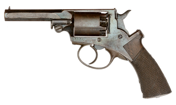"Mass Arms Percussion Pocket Revolver  .31 caliber, 3.25"" octagonal barrel with ramrod mounted on the - Image 8 of 8"
