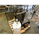(Lot) Electric & Gas Heaters