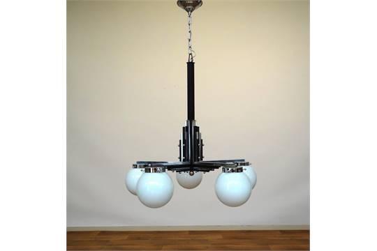 Art Deco Hanglamp : Armige art deco hanglamp armige art deco kroonlamp met