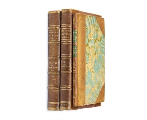 Bewick, Thomas. History of British Birds, first edition in two volumes, Newcastle: Hodgson for Beilby & Bewick, 1797-1804