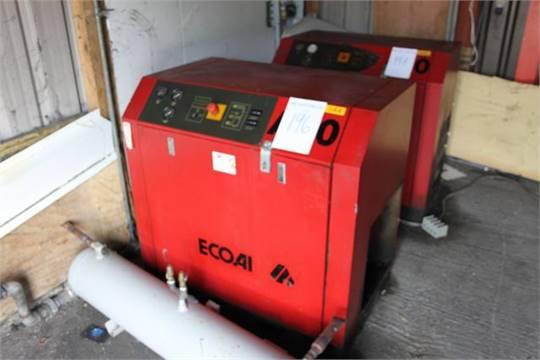 ecoair a20 air compressor 15kw 8bar 20hp rh i bidder com ecoair compressor service manual ecoair c9 compressor manual